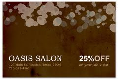 PCS-1064 - salon postcard flyer