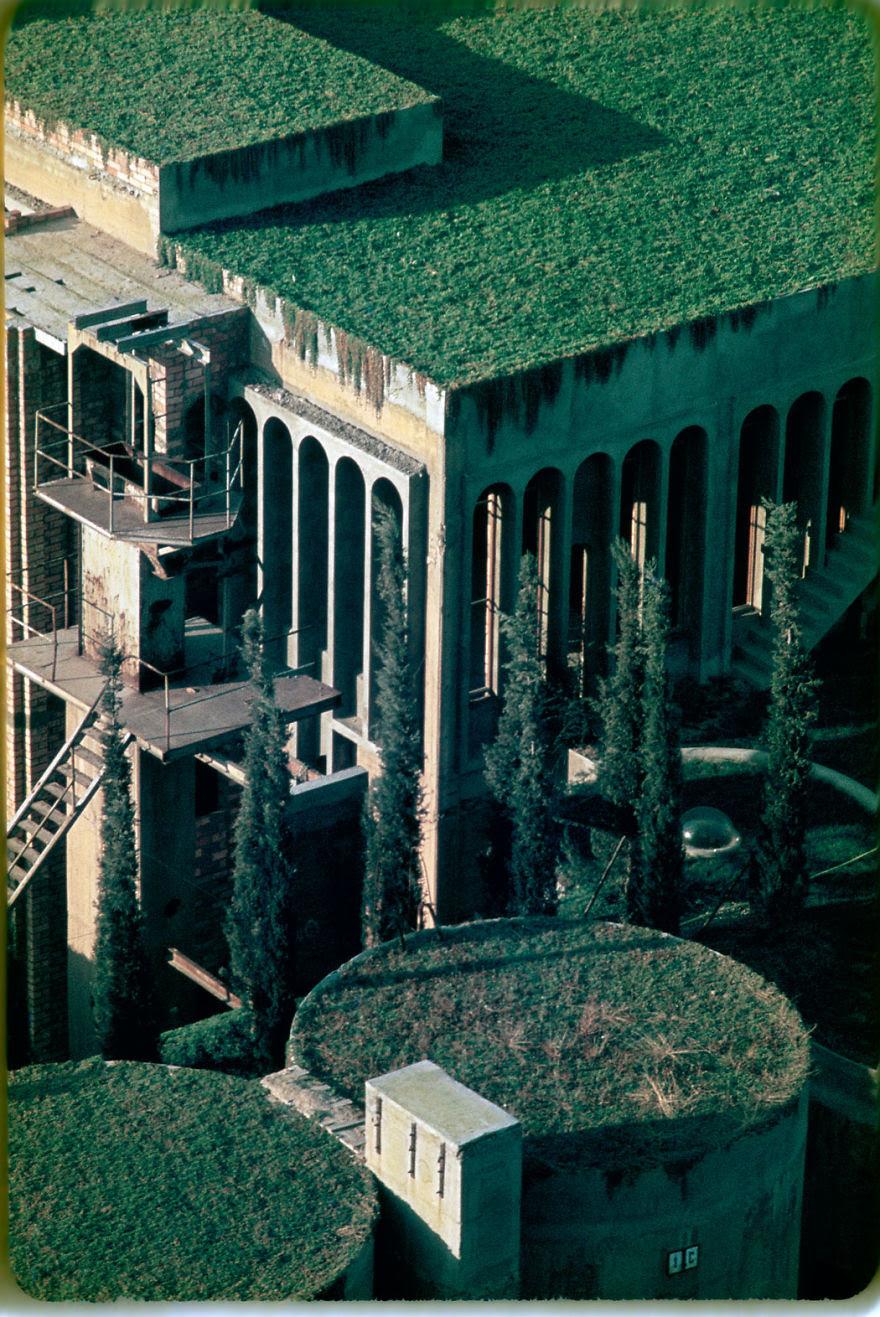 Ricardo Bofill casa personal cemento 12