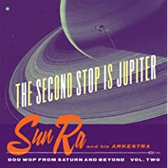 Sun Ra Second Stop Is Jupiter  cover