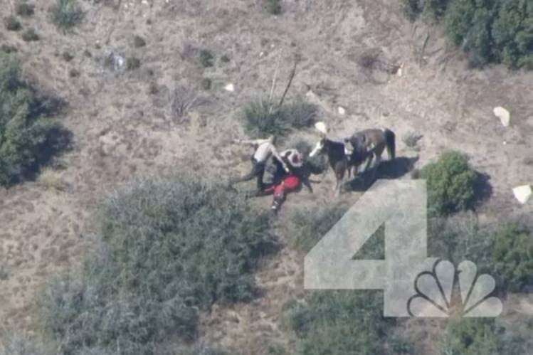 After a news helicopter in April took video of sheriff's deputies in San Bernardino County, Calif., beating Francis Pusok, who had tried to escape on horseback, the county reached a $650,000 settlement with him.