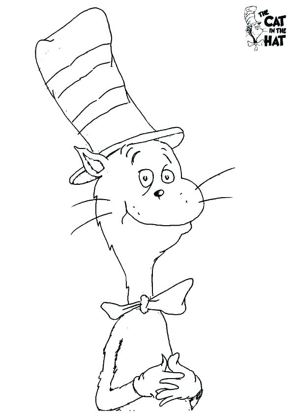 Cat In The Hat Coloring Pages Pdf at GetColorings.com ...