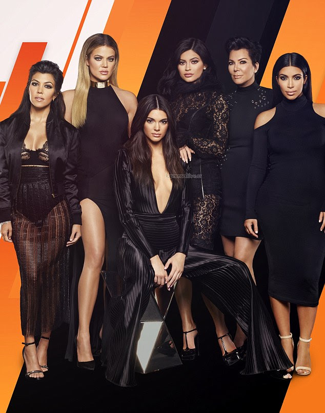 Headed for the big screen? The Kardashian-Jenner family (featuring clockwise from left, Kourtney, Khloe, Kylie, Kris, Kim and Kendall) are all thought to have been offered $100M to make Keeping Up With The Kardashians TV show into a movie