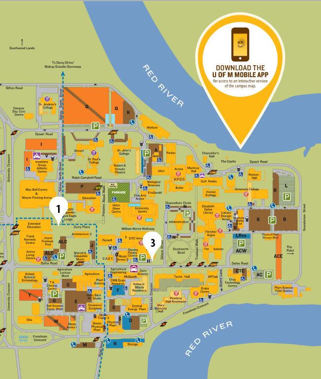 U Of M Campus Map U Of M Map | Bedroom 2018