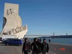 Padrão dos Descobrimentos & Ponte 25 de Abril, Lisbon, Portugal