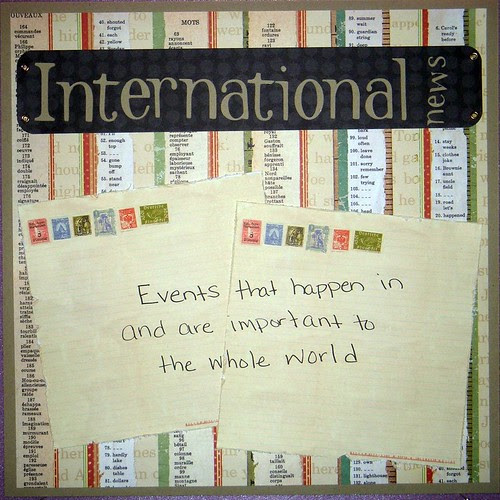 International News Poster