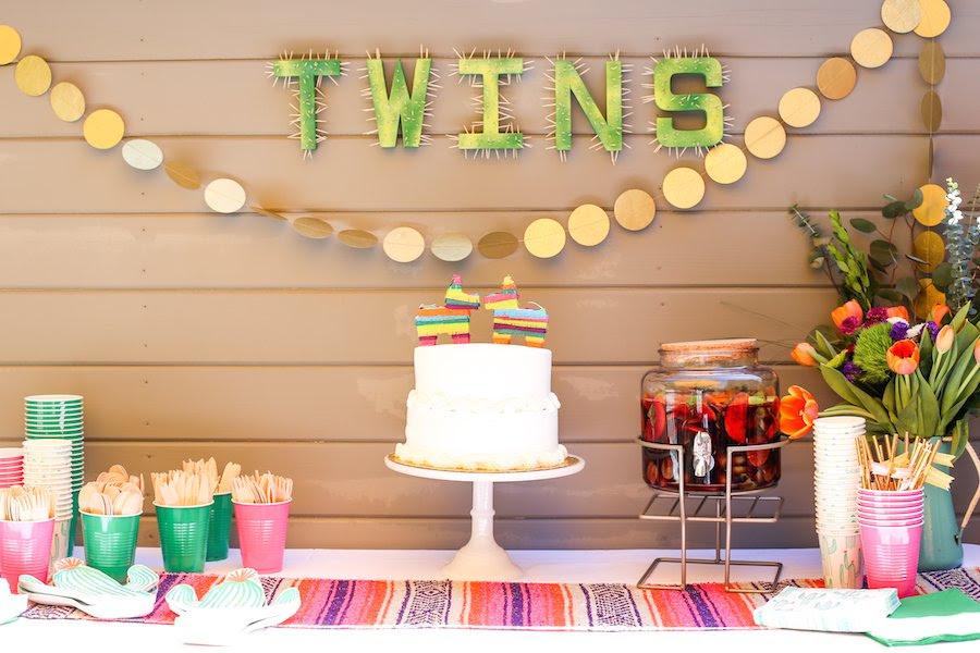Twin Baby Shower Fiesta