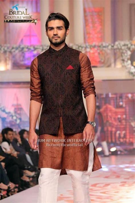 Mehndi Kurta Designs 2017 For Men In Brown Color   jodhpur