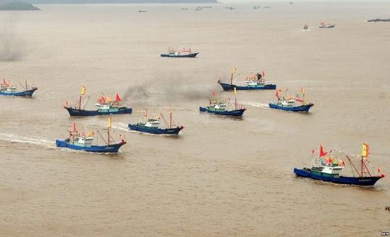 Trung Quốc, Đường Lưỡi Bò, ADIZ, quy định đánh bắt cá, Hải Nam, độc chiếm, chủ quyền, biển Đông