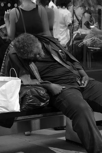 Just homeless