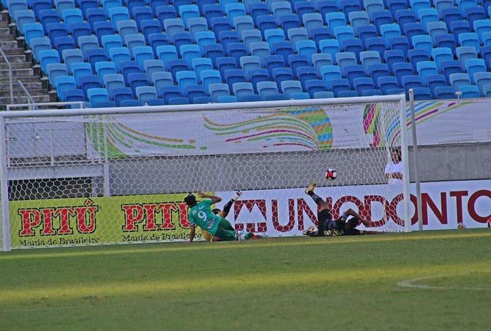 Santa Cruz de Natal x Alecrim, na Arena das Dunas (Foto: Fabiano de Oliveira)