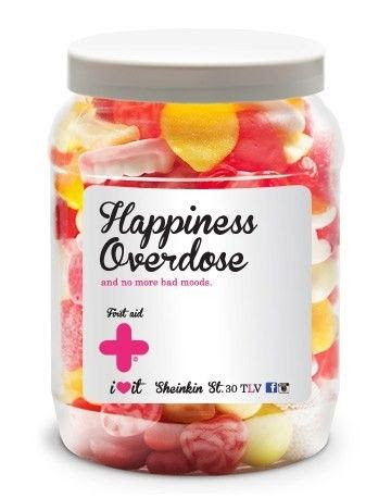 Jar of Happiness: Sweet Candy Buffet: First Aid Love Pills: Birthday / Valentine