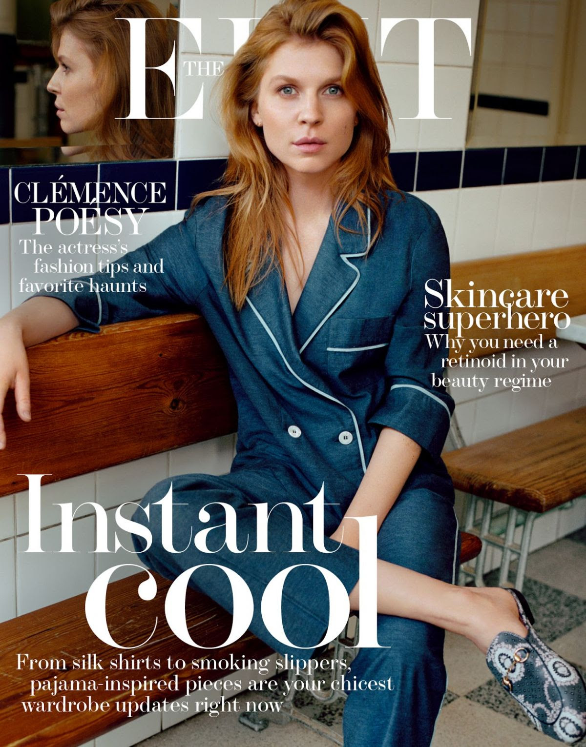 CLEMENCE POESY in Edit Magazine, March 2016 Issue