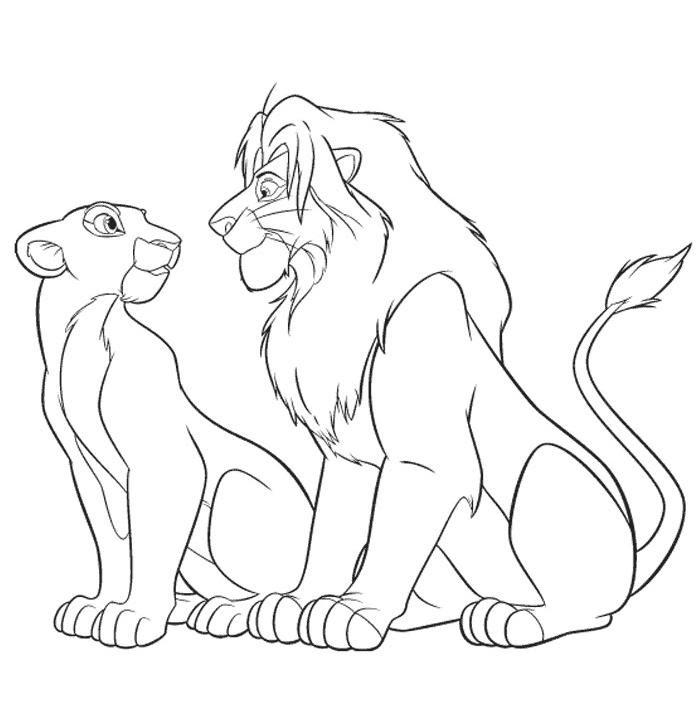 108 Dessins De Coloriage Lion à Imprimer Sur Laguerchecom Page 10
