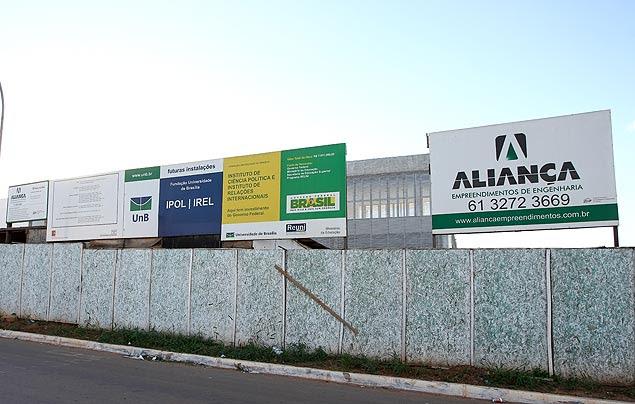 Obra na Universidade de Brasília realizada pela Aliança, que consta na 'lista suja' da Controladoria-Geral da União (CGU)