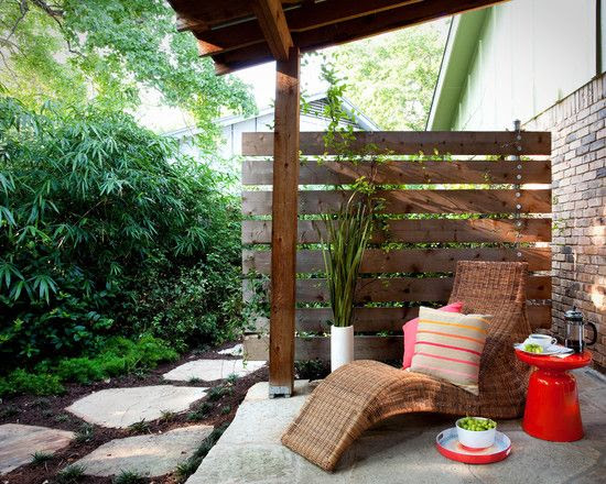 Patio Privacy Screen Design