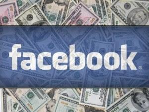 Imagem ilustrativa da logo do facebook associada ao faturamento da rede. (Foto: Divulgação)