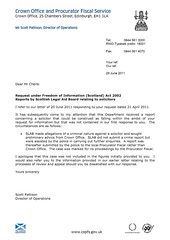 FOI Letter Page1
