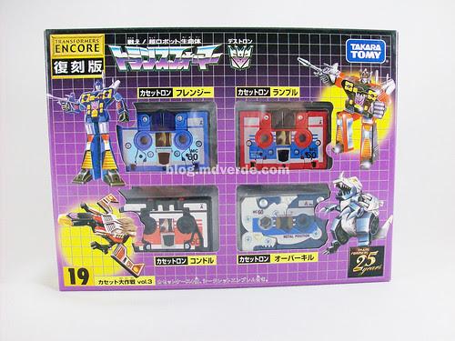 Transformers Overkill G1 Encore - caja