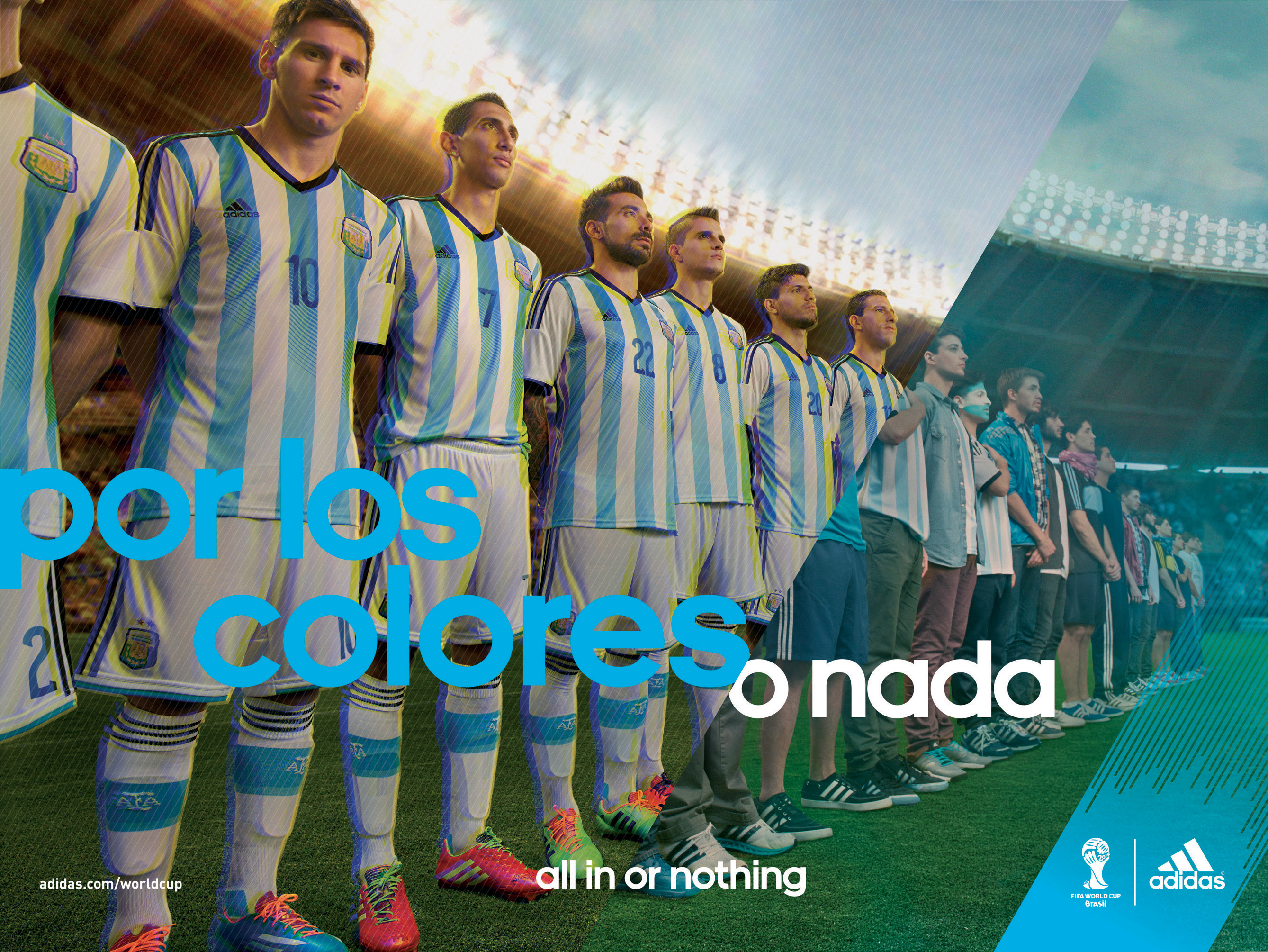 Lionel Messi Adidas Advertisement