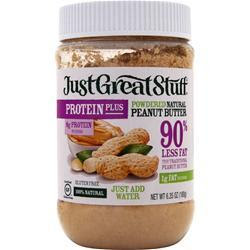 BETTY LOU'S Just Great Stuff - Powdered Organic Peanut Butter Protein Plus 180 grams