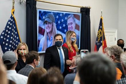 Democratic super PAC starts a multimillion-dollar ad blitz for Georgia Senate runoffs.