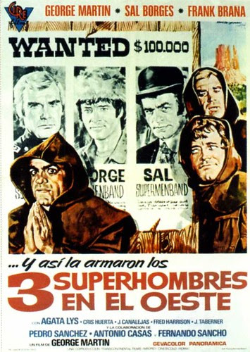 1973 - 3 supermen en el oeste