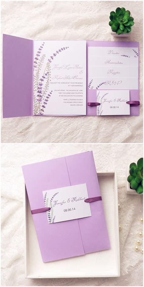 Top 10 Pocket Wedding Invitation Kits For Spring 2015