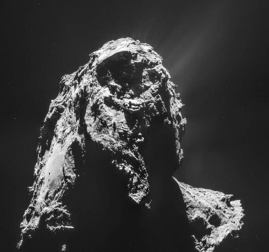 Nuevas imágenes del cometa 67/Churymov-Gerasimenko.