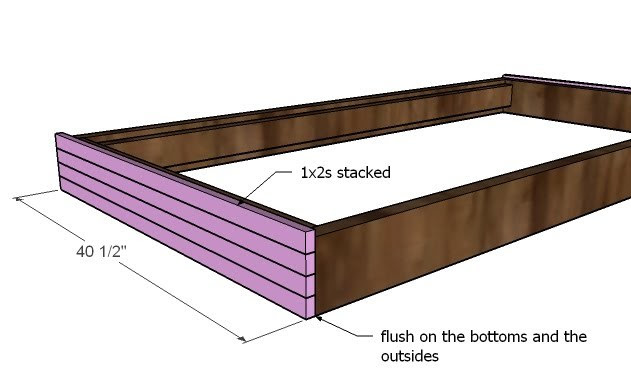 Ana White   Build a Hanging Outdoor Bed   Free and Easy DIY ...