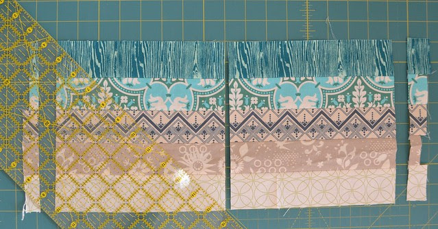 Blended Scraps Block Tutorial 4