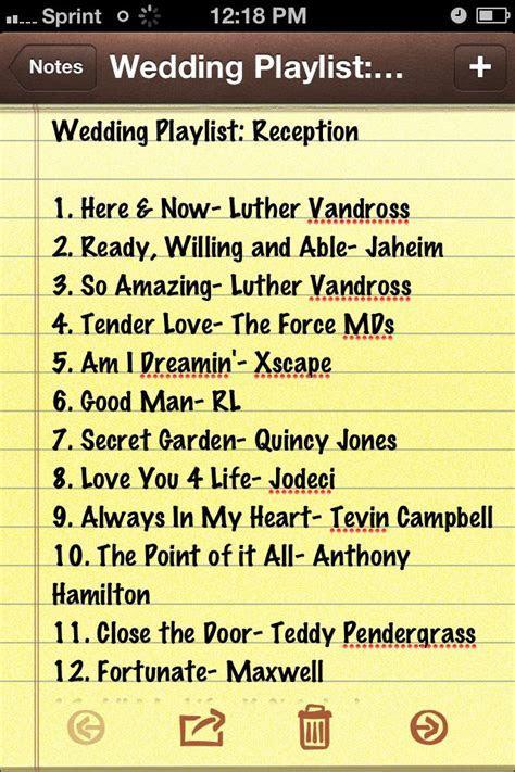 25  best ideas about Wedding reception playlist on