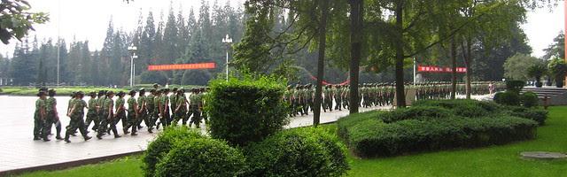 Freshmen required military training, XHU