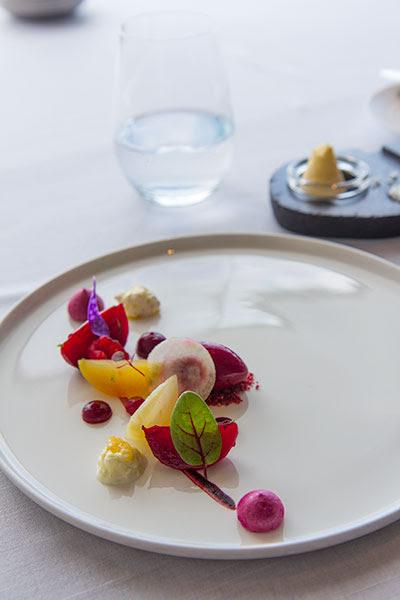 Singapore Best Restaurants Jaan Beetroot Collection