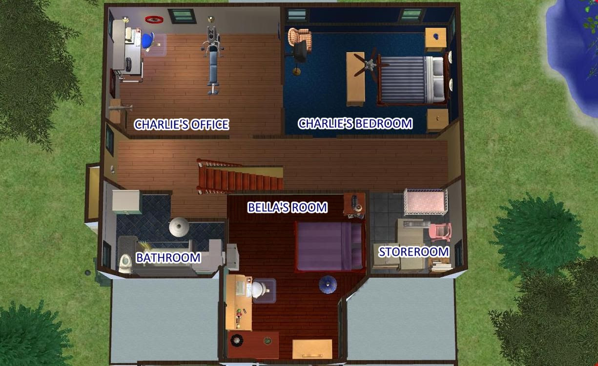 Twilight Cullen House Floor Plan House Plan