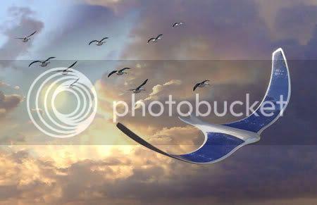 weird aircraft design ornithopter