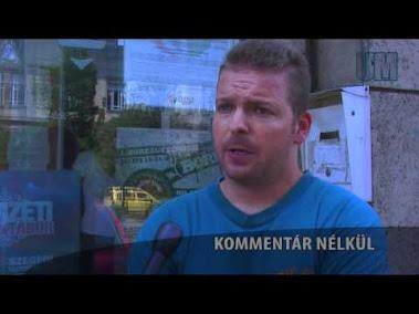 Kemenár Zoltánt a homoszexuális felvonulás után állították elő a rendőrök, a Gyorskocsiban utcába.