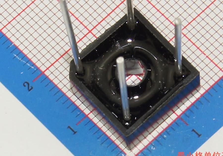 10PCS 6A 1000V diode bridge rectifier kbpc610 ~ El OlShop