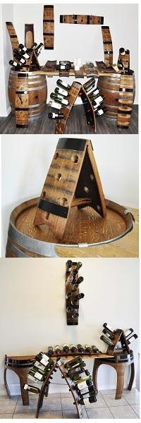 Wine Barrel Decor Items Bar And Cellar Wine Barrel Craft