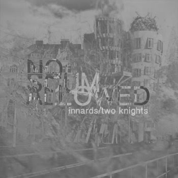 """no scum allowed split 7"""" with Two Knights cover art"""