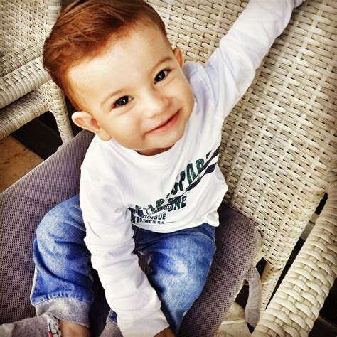 cute baby boy haircuts   lovely toddler
