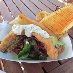 Tempura Herring Sandwich from Chef Shack