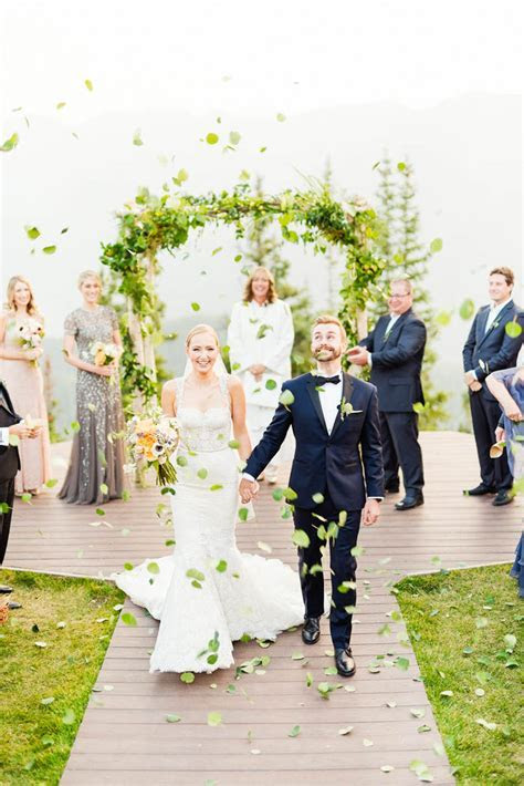 This Elegant Aspen Wedding at The Little Nell Has the Most