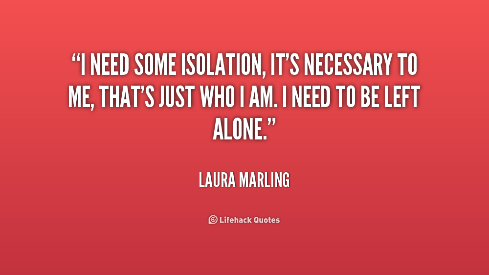 Quotes About Isolation In Speak 15 Quotes