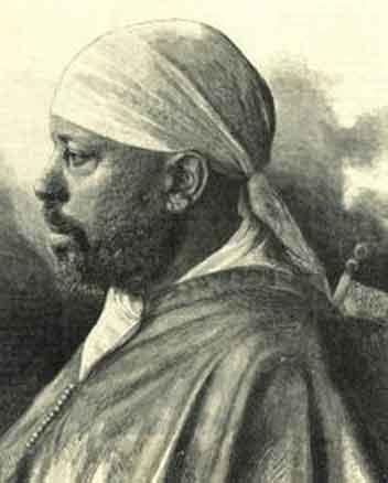 O imperador etíope Menelik II