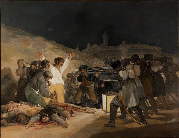 Tres de Mayo di Goya