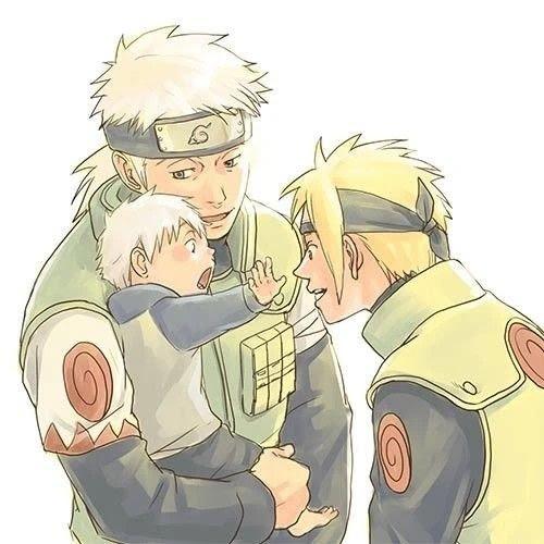 Baby Kakashi Naruto Amino