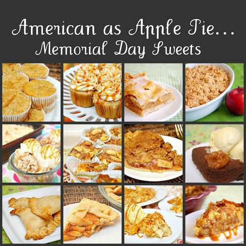 American as Apple Pie... Memorial Day Sweets!