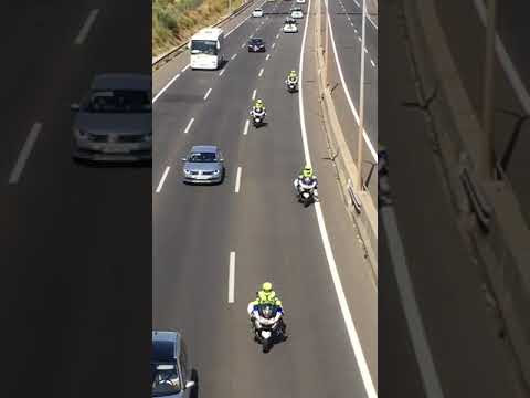 (Video) Guardia Civil sale de Madrid a Cataluña