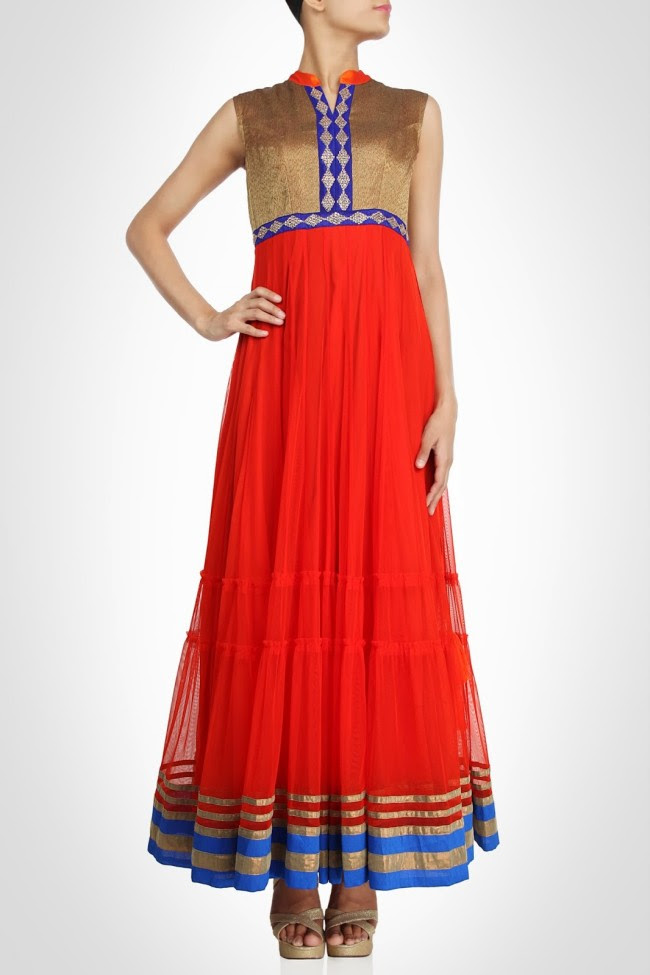 Girls-Wear-Beautiful-Maxi-Anarkali-Fashion-Frock-Fashion-by-Designer-Debashri-Samanta-