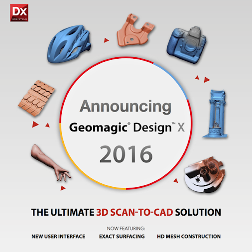 3D Systems updates their Geomagic Design X software. ‪#‎3dprinting‬